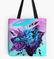 Crystal Wolf  Tote Bag
