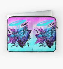Crystal Wolf  Laptop Sleeve