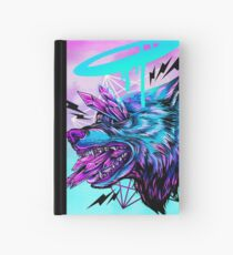 Crystal Wolf  Hardcover Journal