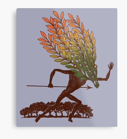 From the Wild Wood Metal Print