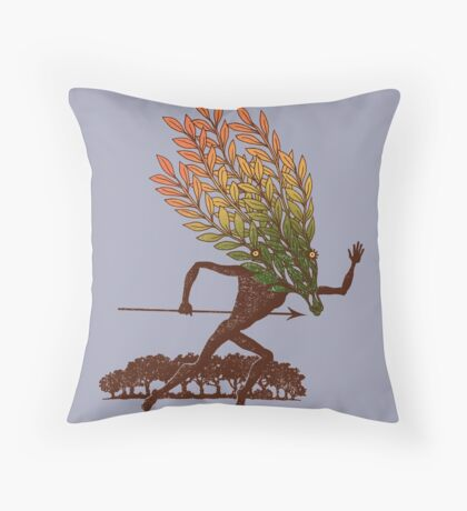 From the Wild Wood Throw Pillow