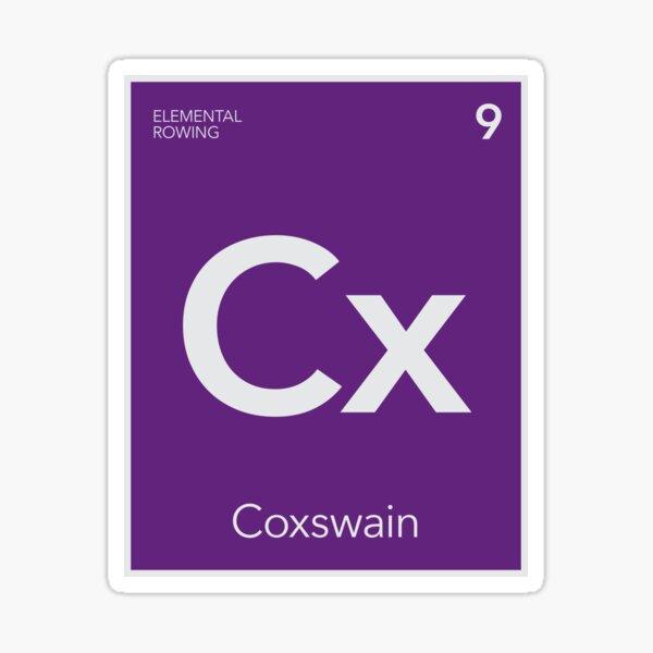 Elemental Rowing - Coxswain Sticker