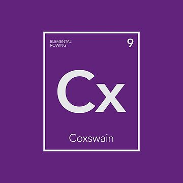 Elemental Rowing - Coxswain by WorkingWalrus