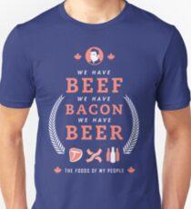 Beef, Bacon, Beer T-Shirt