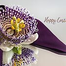 Passion flower for Easter by Celeste Mookherjee
