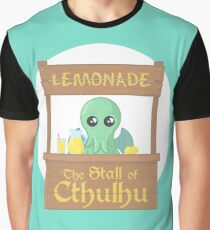 Stall of Cthulhu Lime 2 Graphic T-Shirt