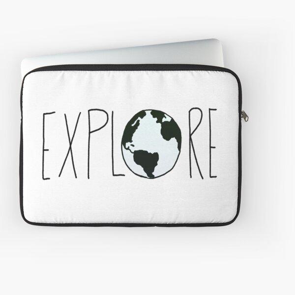 Explora el globo Funda para portátil