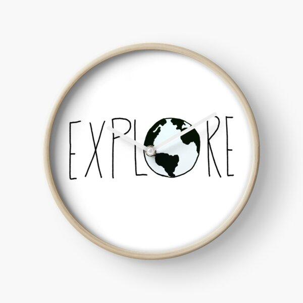Explora el globo Reloj
