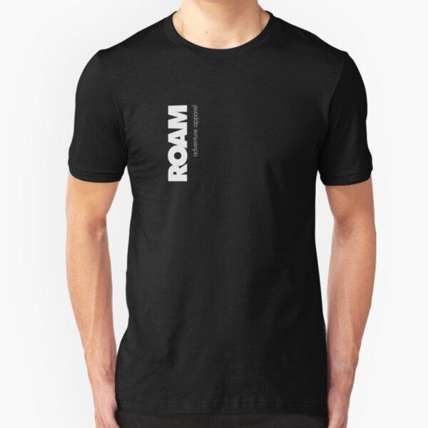ROAM Apparel Vert Logo Slim Fit T-Shirt
