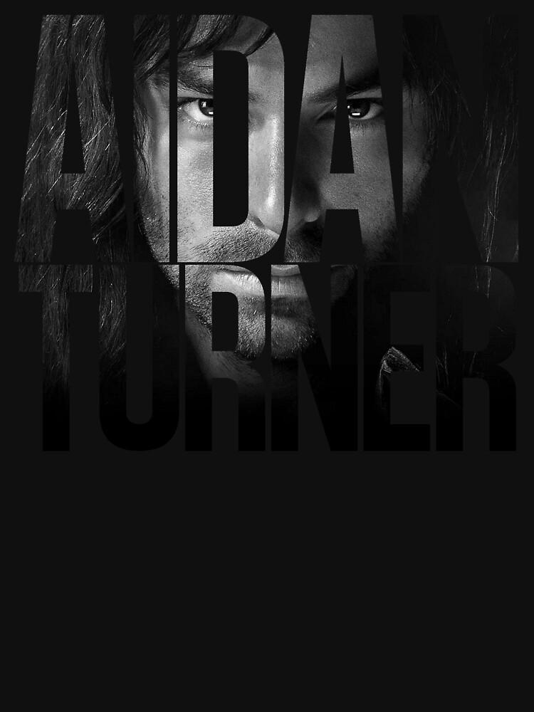 TShirtGifter presents: Aidan Turner | Unisex T-Shirt