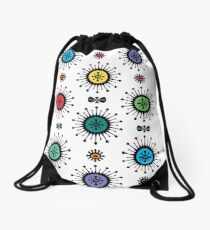 Retro Starlight Drawstring Bag