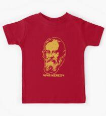 """Galileo """"Viva Heresy"""" Kids Tee"""