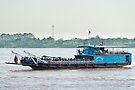 Phnom Penh Ferry by Werner Padarin