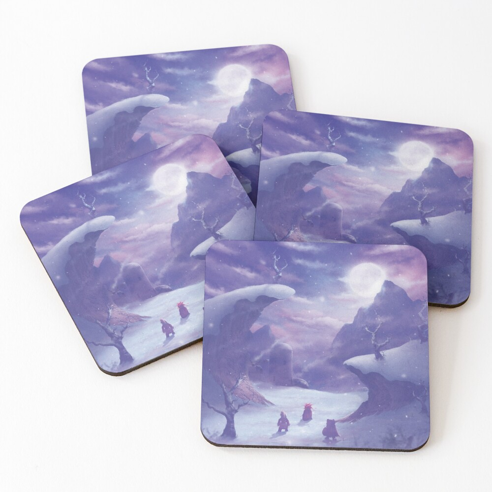 Time Triggers  Coasters (Set of 4)