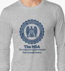 The NSA Long Sleeve T-Shirt