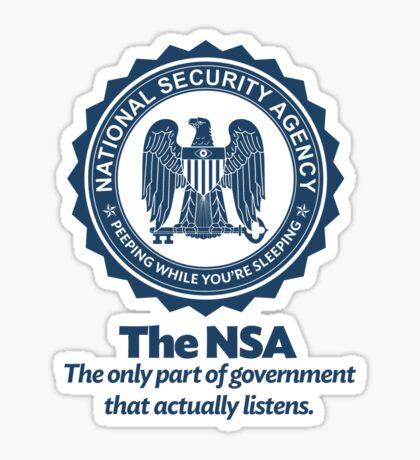 The NSA Sticker
