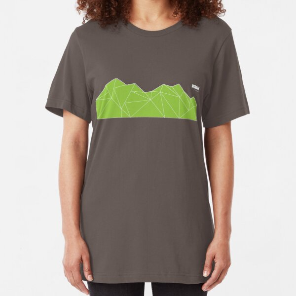 Vector Mountain  Slim Fit T-Shirt