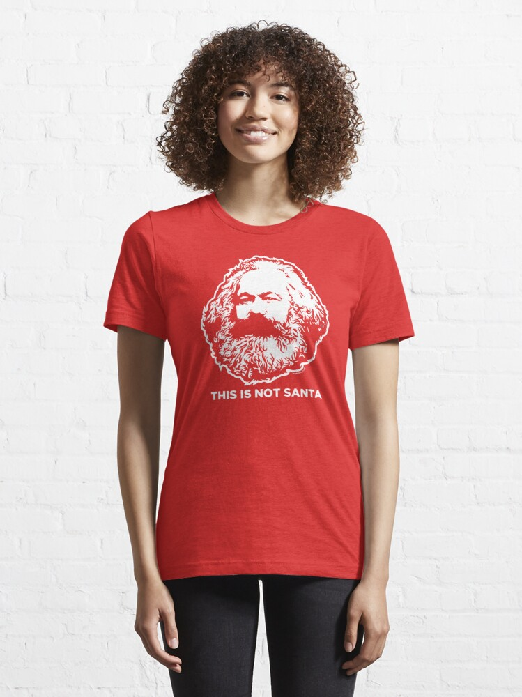 Alternate view of This Is Not Santa Essential T-Shirt