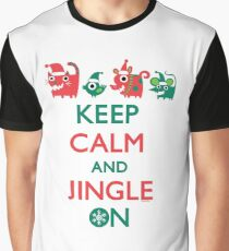 Keep Calm and Jingle On Graphic T-Shirt