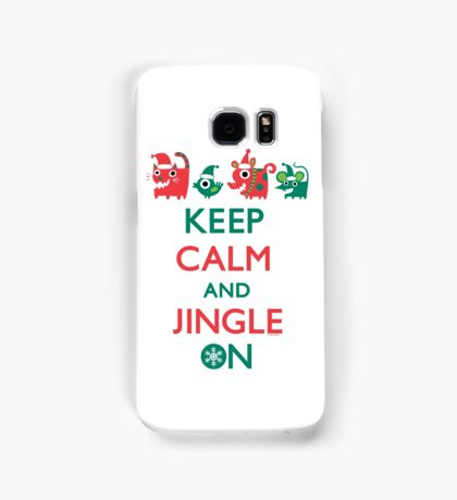 Keep Calm and Jingle On Samsung Galaxy Case/Skin
