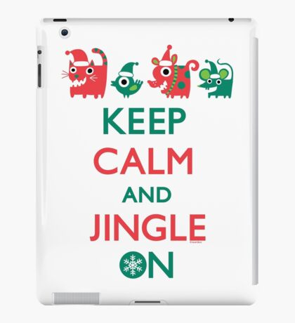 Keep Calm and Jingle On iPad Case/Skin