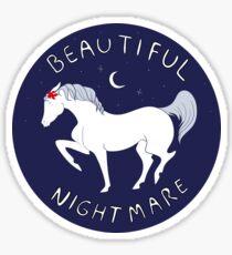 Beautiful Nightmare Sticker