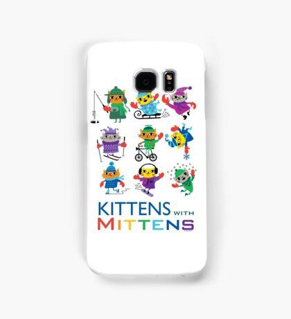 Kittens with Mittens Samsung Galaxy Case/Skin