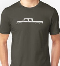 Truck Silhouette - for 1965 Crew Cab sweptline classic pickup Unisex T-Shirt