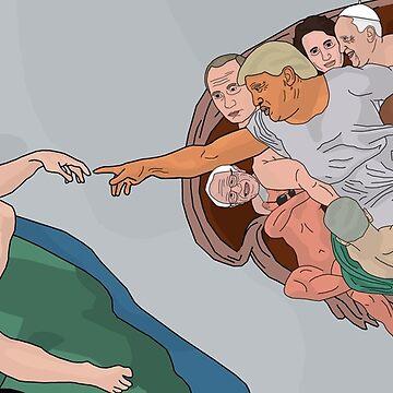 The Creation of Adam-politics by Tom33342