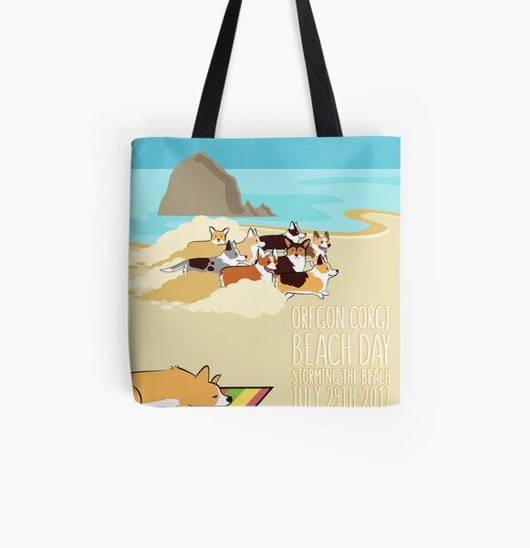 2017 -  Corgi Storm All Over Print Tote Bag