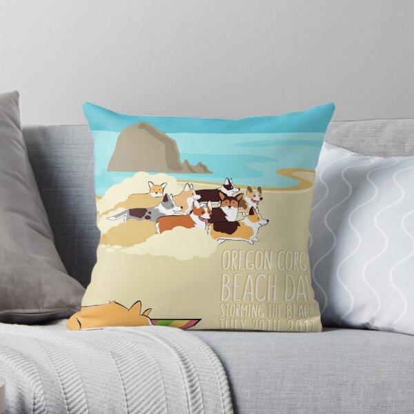 2017 -  Corgi Storm Throw Pillow
