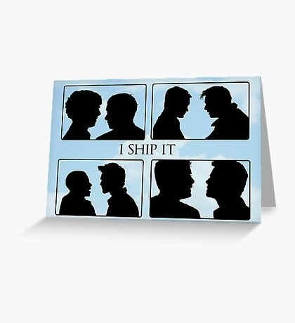 I Ship It Greeting Card