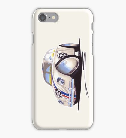 VW Beetle - Herbie iPhone Case/Skin