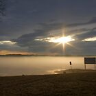 Foggy Sunset by JC-Photography