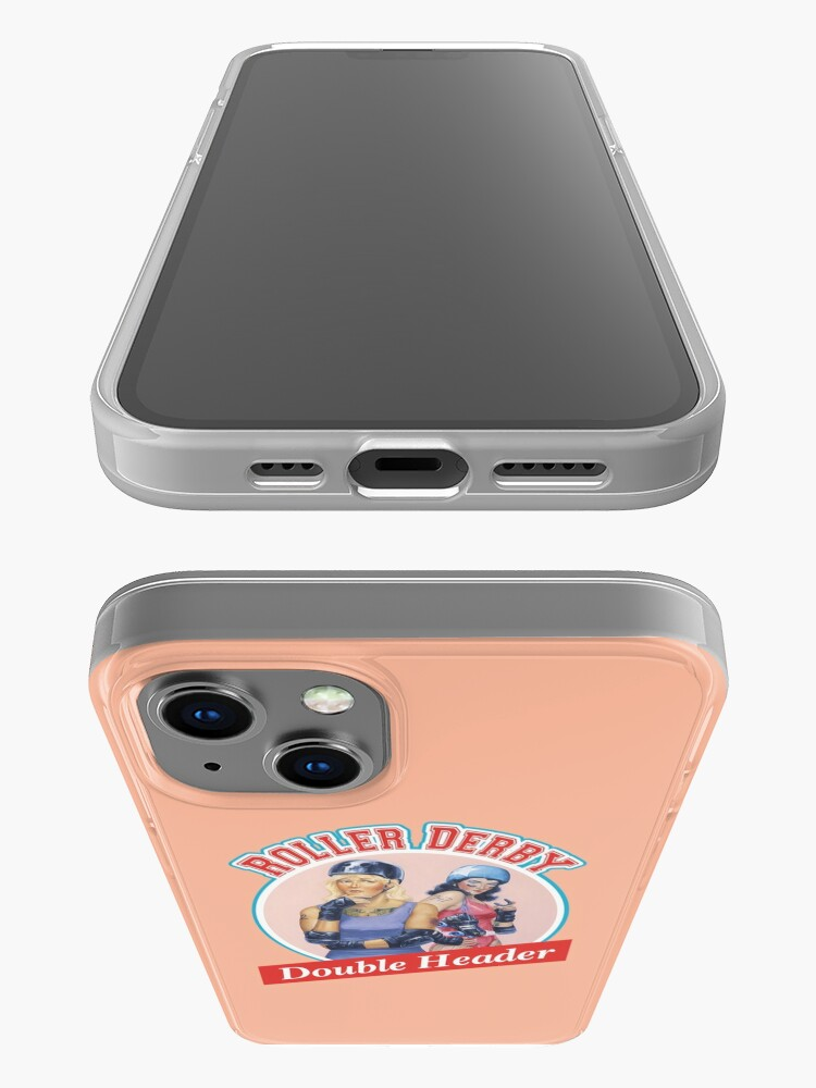 Alternate view of Roller Derby Double Header iPhone Case