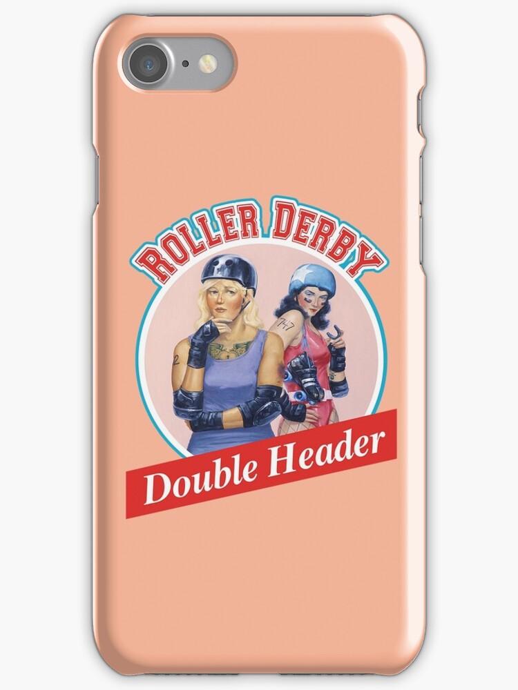 Roller Derby Double Header by John Perlock