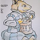 Renaissance Band Corgi by Byron  McBride
