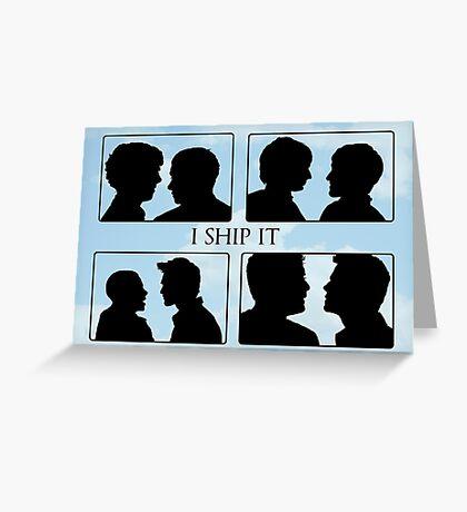 I Ship It II Greeting Card