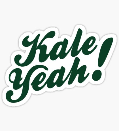Kale Yeah! Sticker