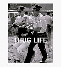 Throwback - Bernie Sanders Photographic Print