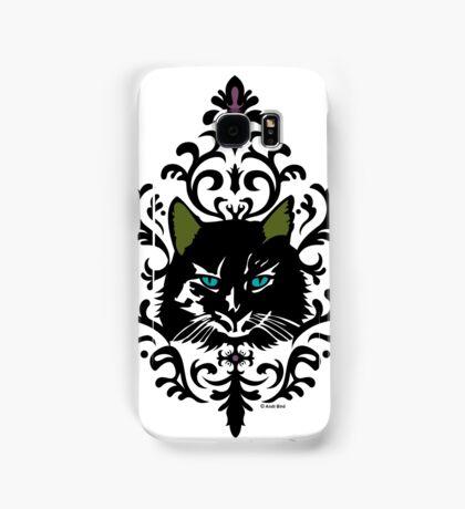 cat nap damask Samsung Galaxy Case/Skin
