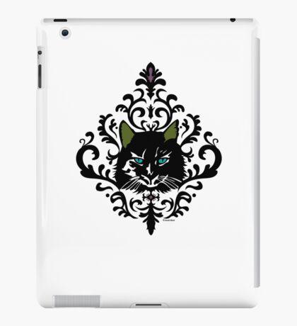 cat nap damask iPad Case/Skin