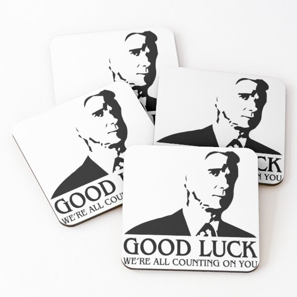 Good Luck Coasters (Set of 4)