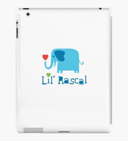 Elephant Lil Rascal blue iPad Case/Skin