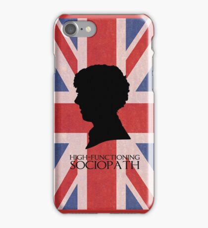 High-Functioning Sociopath iPhone Case/Skin