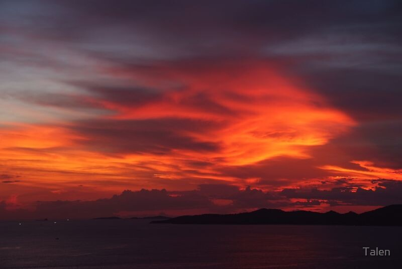 Jomtien Sunset by Talen
