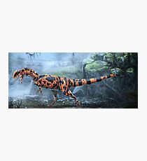 Dilophosaurus Wetherilli Restored Photographic Print