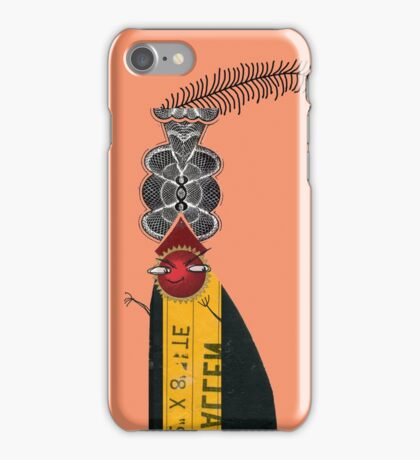Bad Dude up to no good iPhone Case/Skin