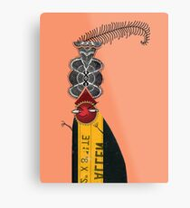 Bad Dude up to no good Metal Print