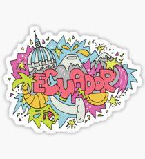 Trip to Ecuador Sticker